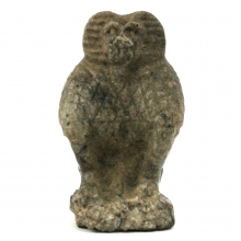 Egyptian granite amulet of the God Thoth depicted as a baboon