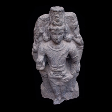 Granite statue of the God Vishnu