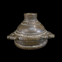 Islamic bronze ink container