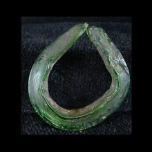 Majapahit Greenish Glass Earring