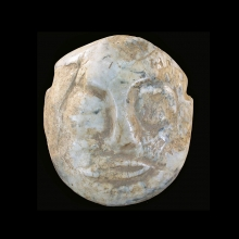 Chinese Neolithic jade face mask