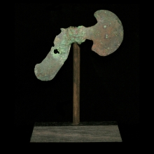 Bactrian votive axe blade.