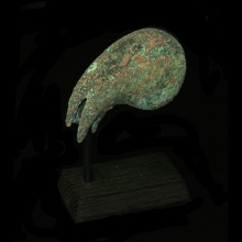 Bactrian bronze claw mace head.