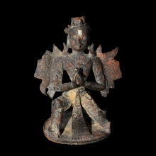 Rare Swat Valley bronze figurine of Garuda