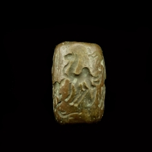 Bactrian copper cylinder seal