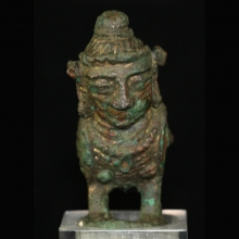 Javanese bronze vessel in the form of Kinnara