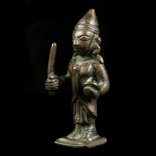 A bronze figurine of Shiva