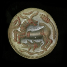 Sassanian rock crystal stamp seal