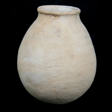 Egyptian marl clay beer vessel. Middle Kingdom