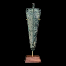 Mesopotamian bronze spear head