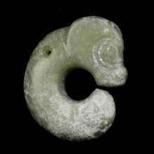 Chinese Neolithic style jade pig-dragon, Qing Dynasty