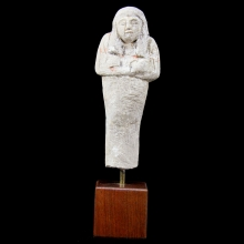 A New Kingdom Limestone Shabti